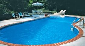 Oblique Swimming Pool