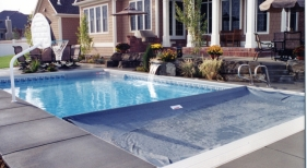 Swimming Pool UG system on VL Pool With Flush Deck Lid