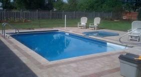 Inground Swimming Pool & Spa