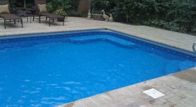 Swimming Pool with Vinyl Liner